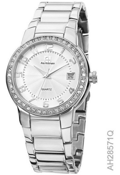 Relógio Feminino Aço Ana Hickmann Ah28571q C/nf