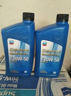 Aceite 20w 50 Mineral Supreme De Chevron