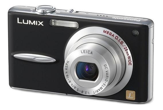 Câmera Panasonic Lumix Dmc-fx30 7.2 Mp