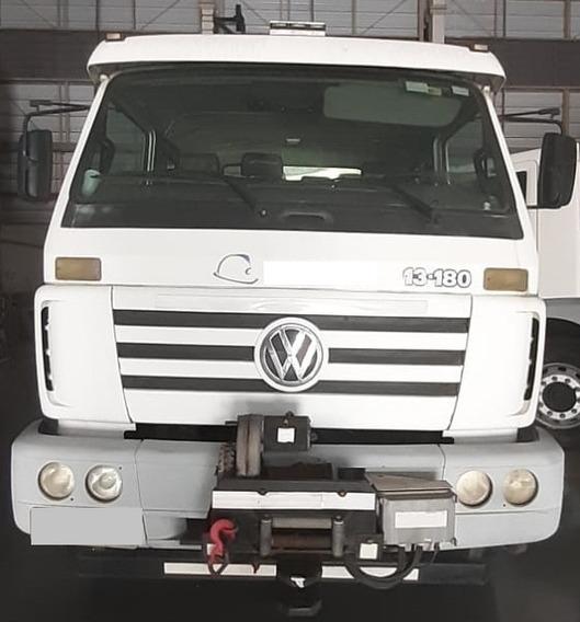 Caminhão Vw 13-180 Cabine Dupla - 120 Mil Km C/carroceria 6m