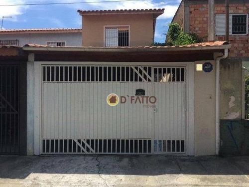 Sobrado Com 2 Dormitórios À Venda, 85 M² Por R$ 390.000,00 - Jardim Bela Vista - Guarulhos/sp - So0800