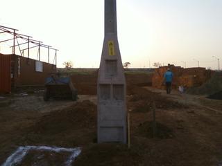 Poste Concreto 03 Pontoenergia Eletrica Padrão Companhia