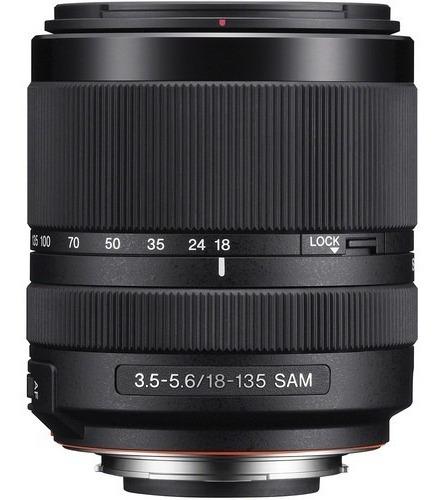 Lente Sony Dt 18-135mm F/3.5-5.6 Sam Alpha A-mount (sal18135