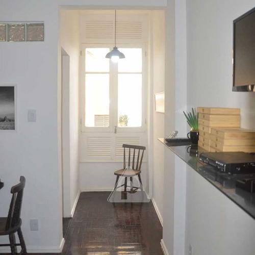 Apartamento À Venda, 1 Quarto, Centro - Rio De Janeiro/rj - 12631