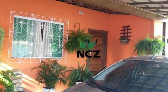 Casa Com 2 Dormitórios À Venda, 116 M² Por R$ 250.000 - Vila De Abrantes - Camaçari/ba. - Ca0096