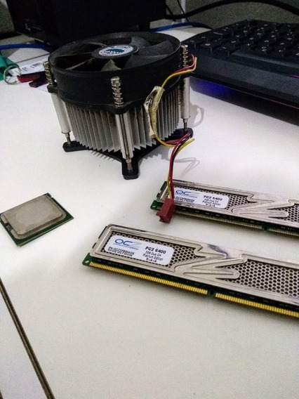 Processador Core 2 Duo E7500 + 4gb Ram + Cooler