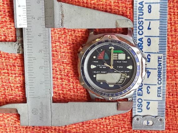 Relógio Antigo Technos T210.aa Leia A Descrição