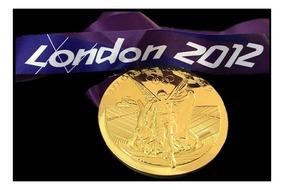 Medalha Jogos Olímpicos Verão London 2012 Modelo Ouro