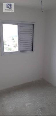 Apartamento Com 2 Dormitórios À Venda, 50 M² Por R$ 220.000 - Parque Das Nações - Santo André/sp - Ap8686