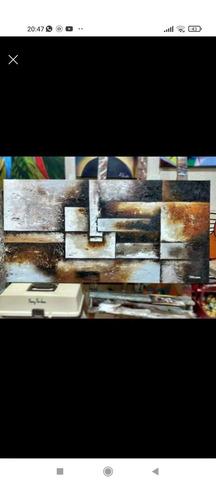 Imagem 1 de 1 de Tela: Abstrato Com Textura