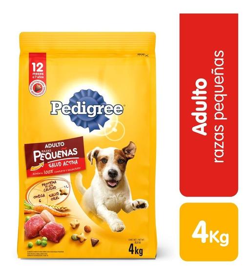 Alimento Para Perro Pedigree Raza Pequeña X 4kg
