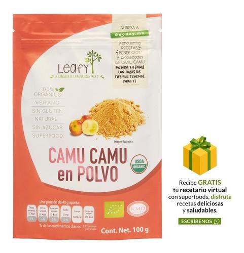 Imagen 1 de 7 de Camu Camu Leafy 100 Gr