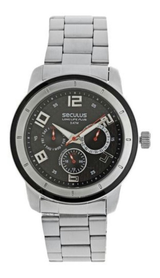 Relógio Seculus Masculino 28161g0spna1 Analógico Casual Urb