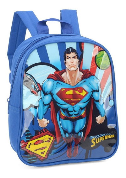 Mochilinha Petit Infantil Superman Up4you Original