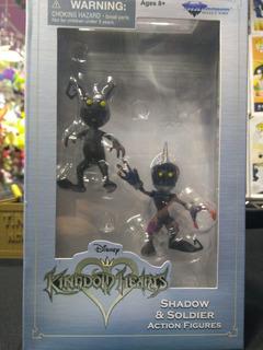 Kingdom Hearts Disney Figura Shadow Y Soldier Diamond Select