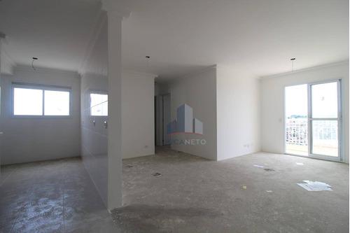 Imagem 1 de 16 de Apartamento Com 2 Dormitórios Sendo 1 Suíte , 72 M² - Venda Por R$ 295.000 Ou Aluguel Por R$ /mês - Vila Nossa Senhora Das Vitórias - Mauá/sp - Ap1117