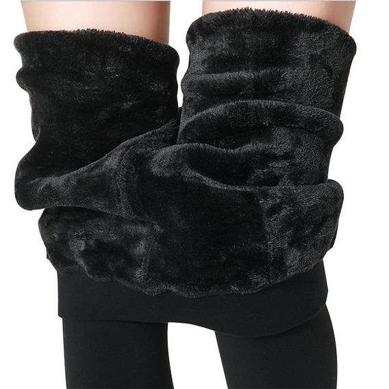 Monos Tipo Leggings Fleece Especial Para El Invierno Frio
