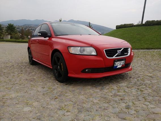 Volvo S40 T5 R-design, Mod. 2010, Color Rojo