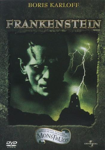 Frankenstein (1931) Dvd Pelicula Nuevo Boris Karloff