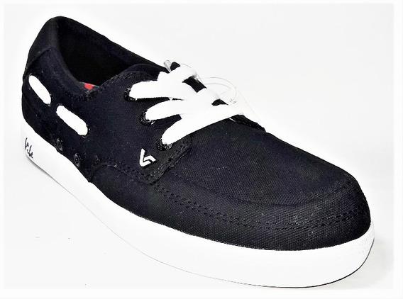 35% Off Tenis Vibe Monaco Preto Skate Shoes - Amostruário