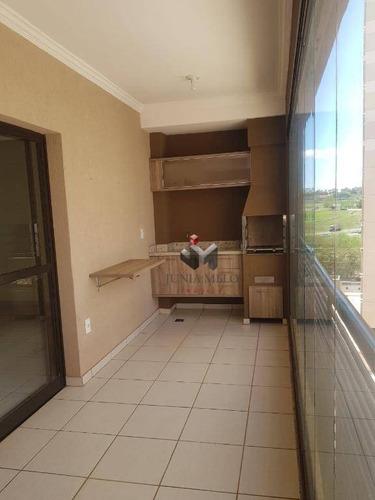 À Venda, Por R$ 460.000 Apartamento Com 3 Dormitórios 116 M² - Nova Aliança - Ribeirão Preto/sp - Ap3462