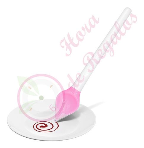 Cuchara Embudo Para Chocolate Decoración Repostería Bombones