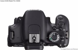 Câmera Canon Dslr T3i Oferta Pouco Uso Impecável