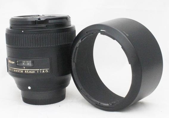 Lente Nikon 85mm F/1,8 Af-s