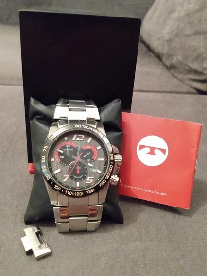 Relógio Technos Masculino Original | Caixa E Manual