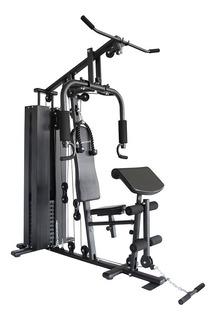 Multigimnasio Multi Gym Con 100kg Pesas Incluidas Lingotera