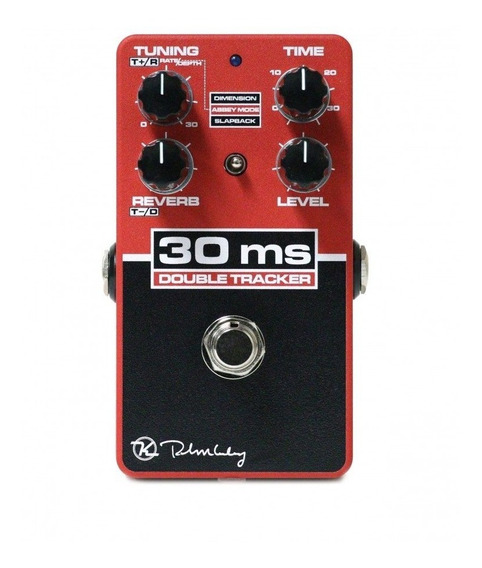 Pedal Keeley 30 Ms Double Tracker Studio C/ Reverb C/ Nfe