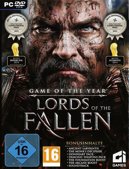 Lords Of The Fallen Pc - Steam Key (envio Rápido)