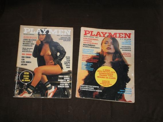 Antigas Revista Playmen, 1º E 2º Adiçao