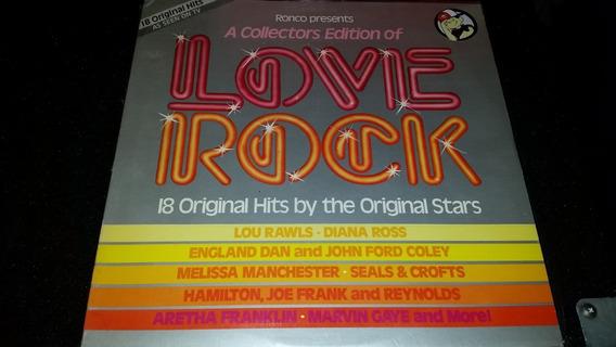 Varios Love Rock Vinilo Lp Compilado Usa 1980