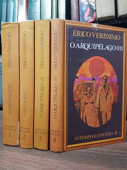 Coleção O Tempo E O Vento 4 Vols - Érico Veríssimo