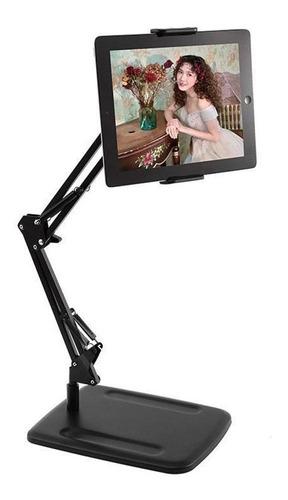Soporte Metal Profesional Para Tablet iPad Brazo Gira 360°