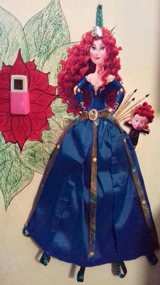 Portamoños Y Diademas De Princesa Valiente
