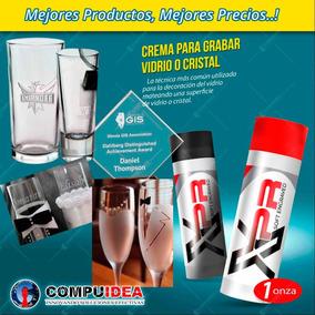 Crema Grabar En Vidrio Xpr /tipo Arenado Grabado / Copas
