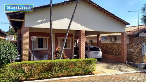 Chale Com 3 Dormitórios À Venda, 150 M² Por R$ 120.000 - Mansões Das Águas Quentes - Caldas Novas/go - Ca0159