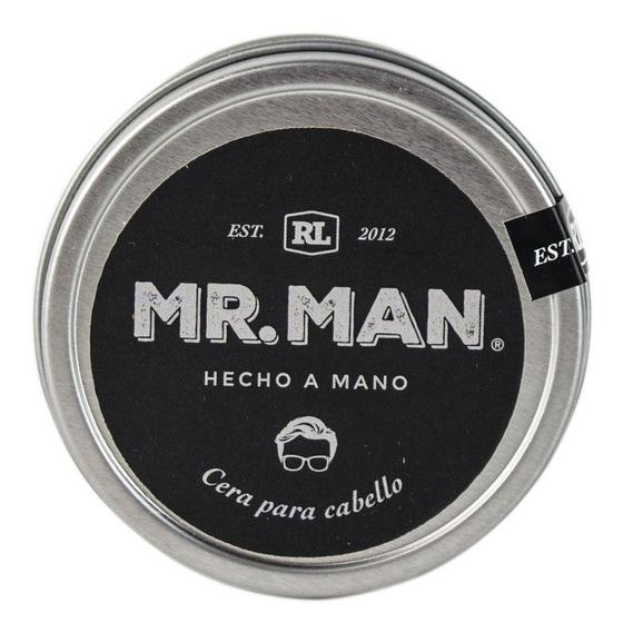 Cera Para Cabello Orgánica Mr. Man Natural Peinar