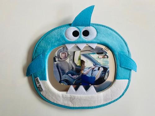 Espejo De Auto Tiburón Bebés Y Niños