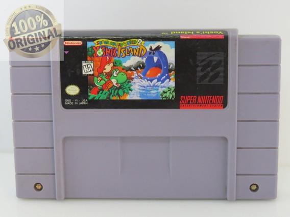 125 Yoshi Island Original Snes Super Nintendo Cartucho