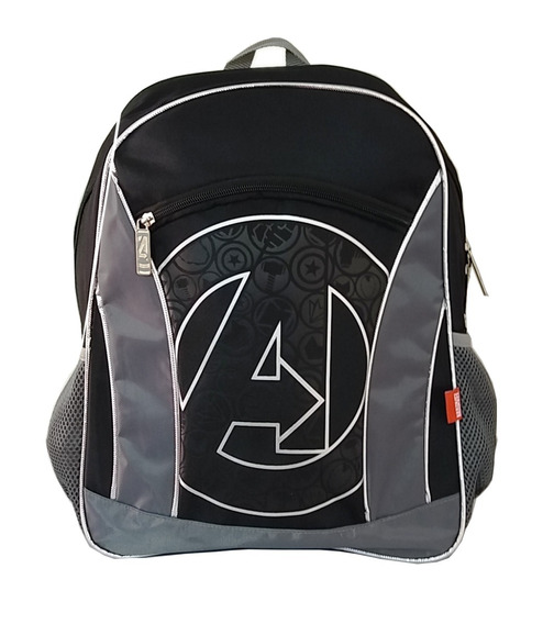 Mochila Avengers Endgame Elegante Con Super Logo De La Peli