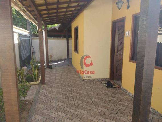 Casa Linear, 2 Quartos, E Edicula Com Suíte, Atlântica - Rio Das Ostras/rj - Ca1762