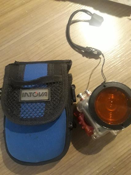 Camera Intova Sport Hd1080 / Tipo Gopro + Lente /case
