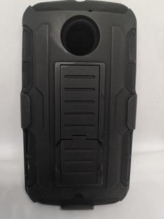 Protector Uso Rudo Para Moto X2 Con Clip Para Cinturon Promo