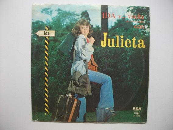 Disco De Vinilo De Julieta Magaña - Ida Y Vuelta Con Julieta