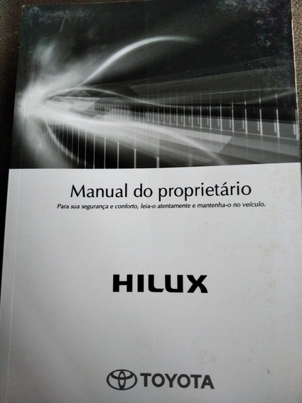 Manual Proprietário Hilux Sw4