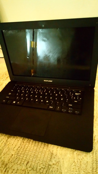 Carcaça Completa Notebook Multilaser Pc101