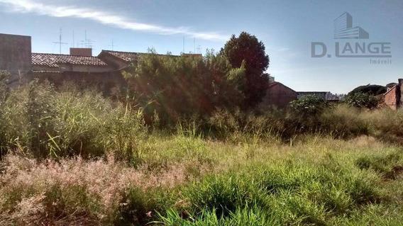 Terreno Residencial Para Venda E Locação, Bonfim, Campinas - Te3508. - Te3508